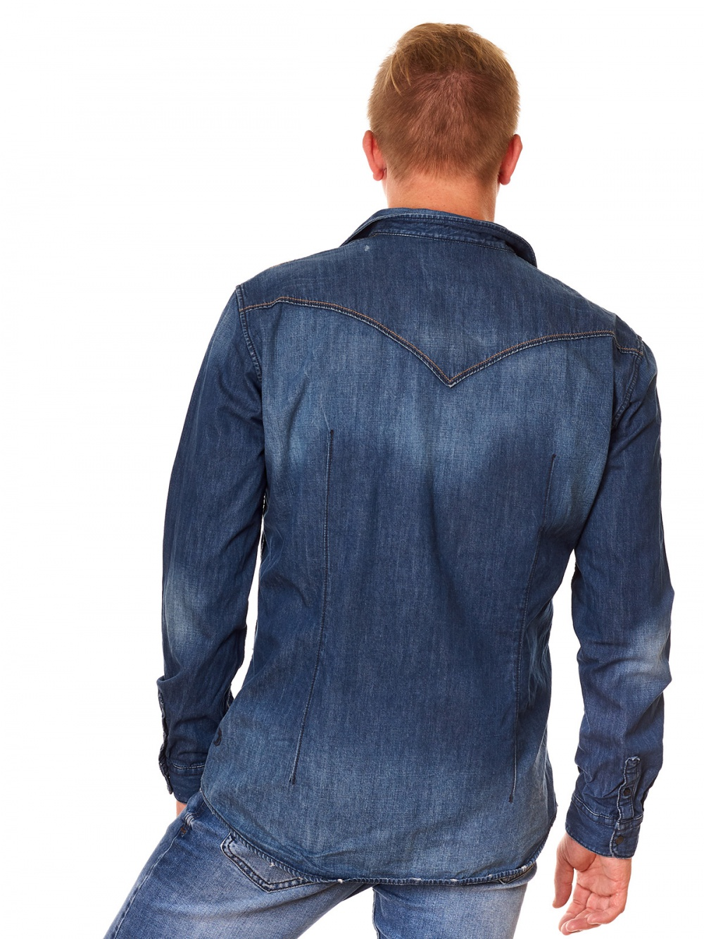 Рубашка TOM TAILOR размер XL на наш скорее M-L