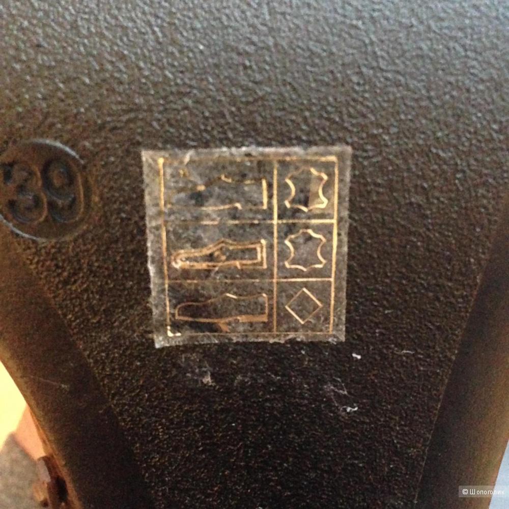 Кожаные полусапоги T-Progetto, 39 размер