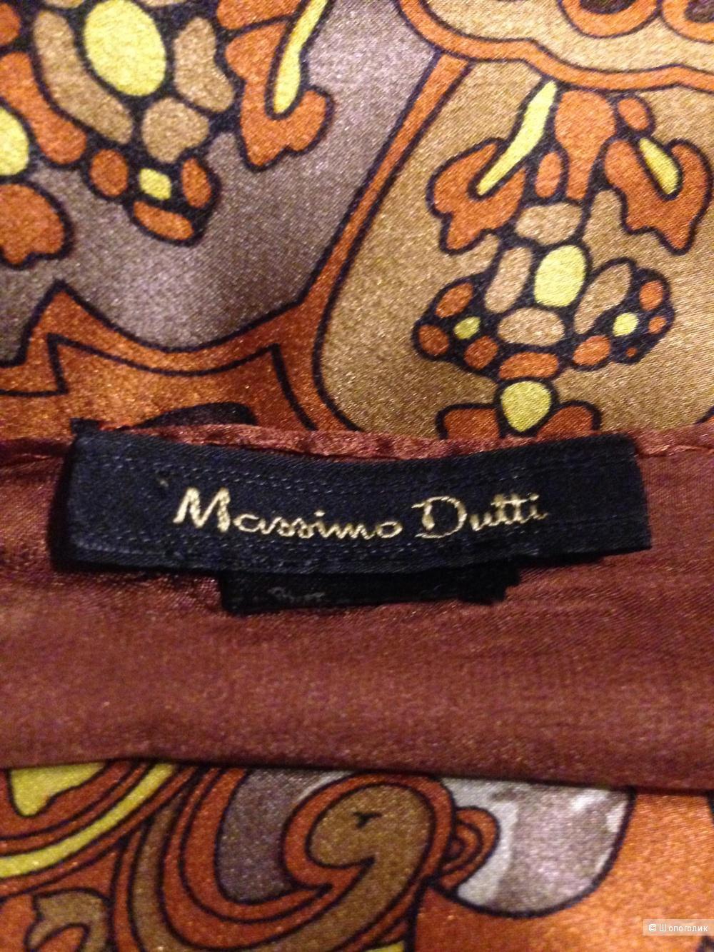 Шёлковый платок Massimo Dutti, размер 110*110