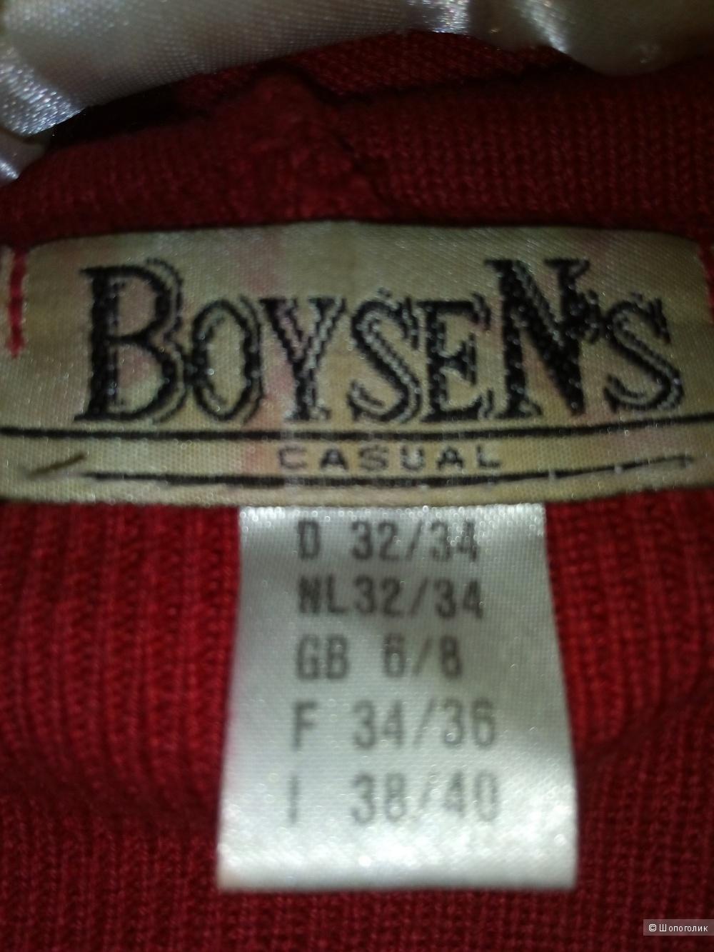 Кофточка BoyesNs  на замке с капюшоном р.42