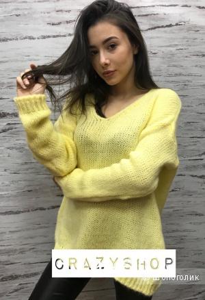 Мохеровый свитер, one size