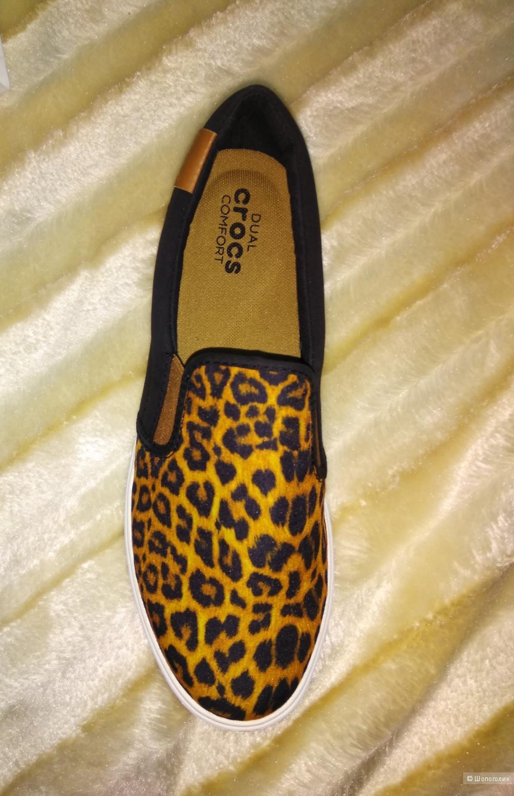 Слипоны Crocs 37 размер 7us