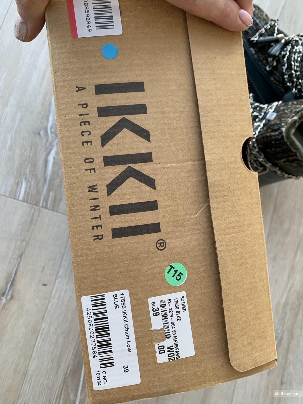 Полусапоги IKKII /EU 39 (25см)