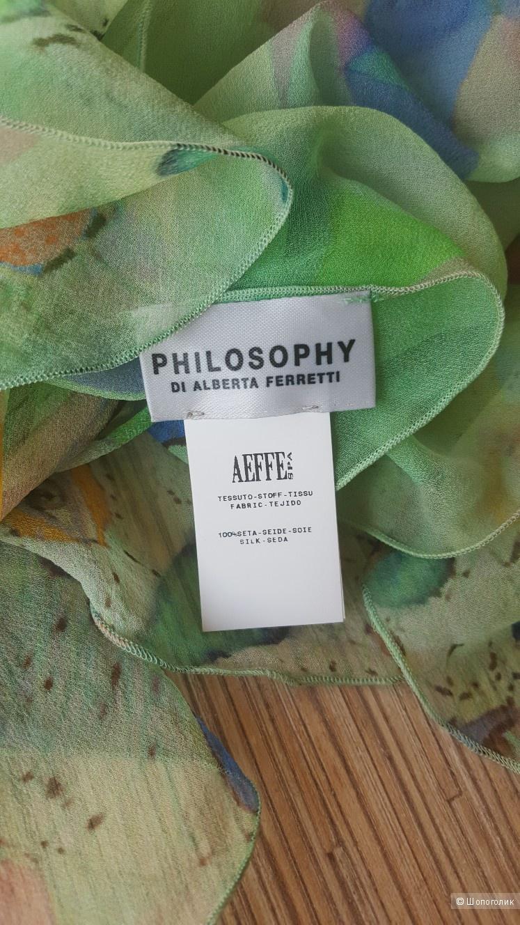 Платок PHILOSOPHY DI ALBERTA FERRETTI. 120×77