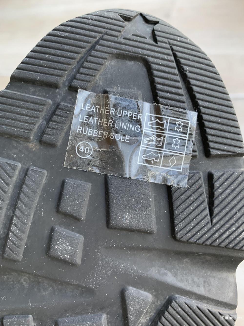 Полусапоги ASH /RU40 (25,5см)