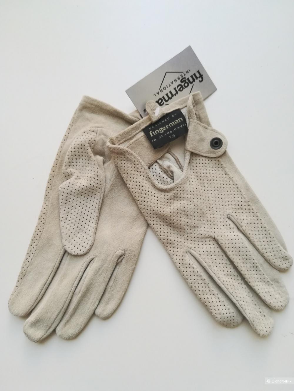 Перчатки Fingerman, размер 7,5
