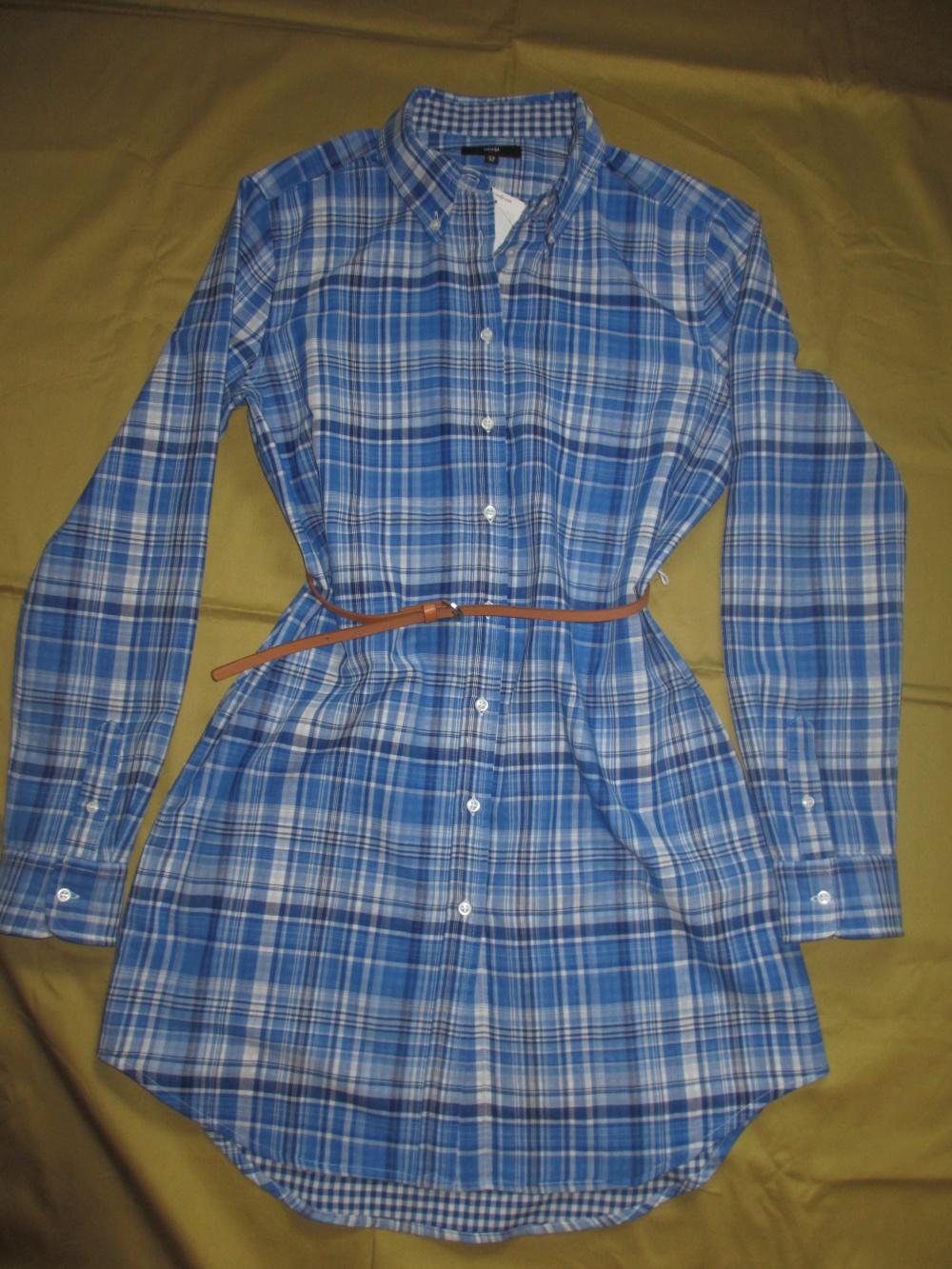 Платье-рубашка Oodji, размер 46-48