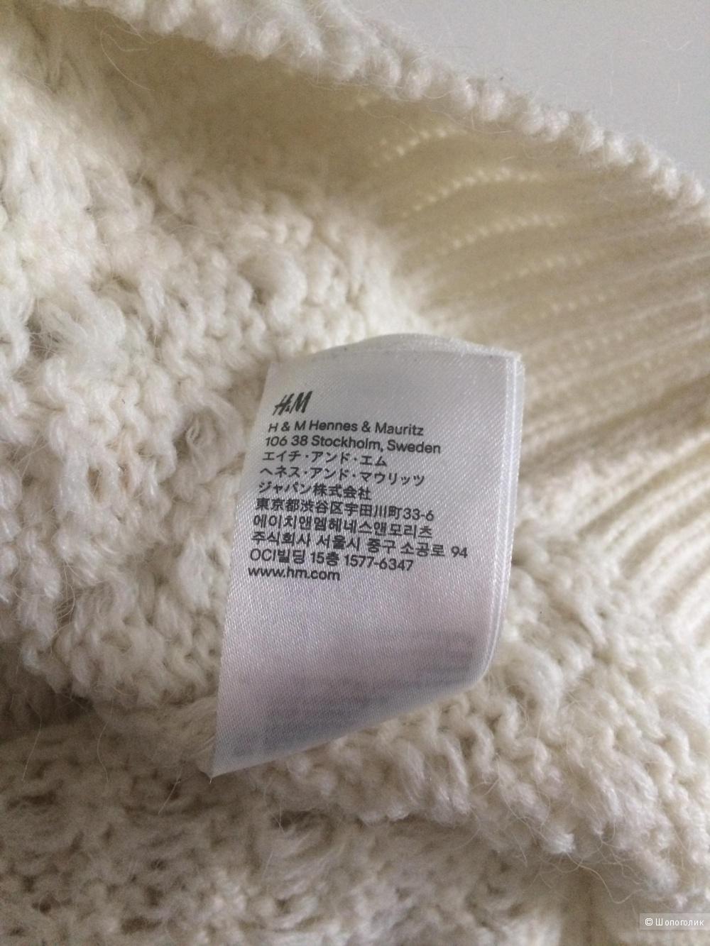 Вязаный свитер H&M, размер S