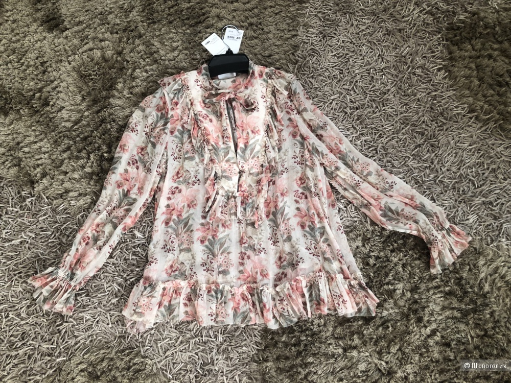 Шелковая блузка Zimmerman. Размер 2(44-46)
