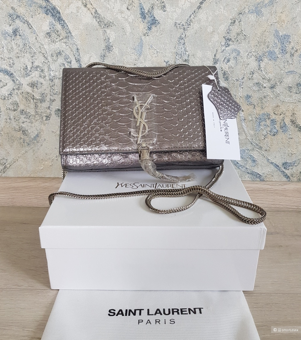 Сумка Saint Laurent (серебро)