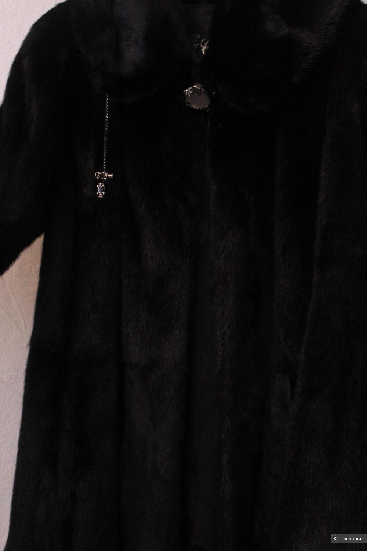 Норковая шуба 7 carat размер 44
