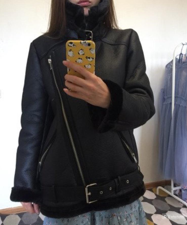 Дублёнка Zara 46