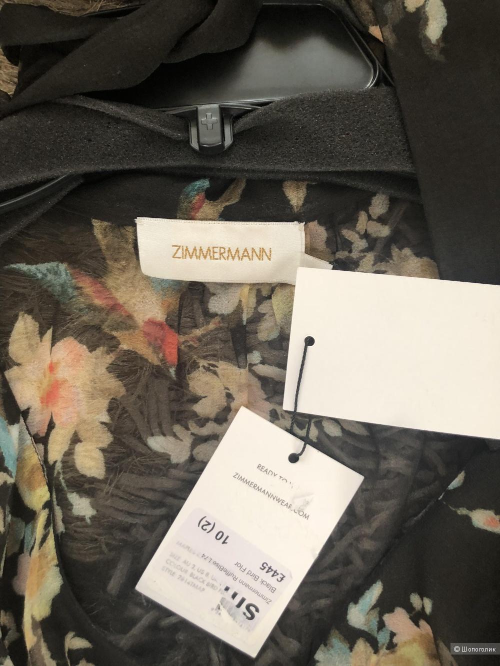 Шёлковая Блузка Zimmerman. Размер 2(44-46)