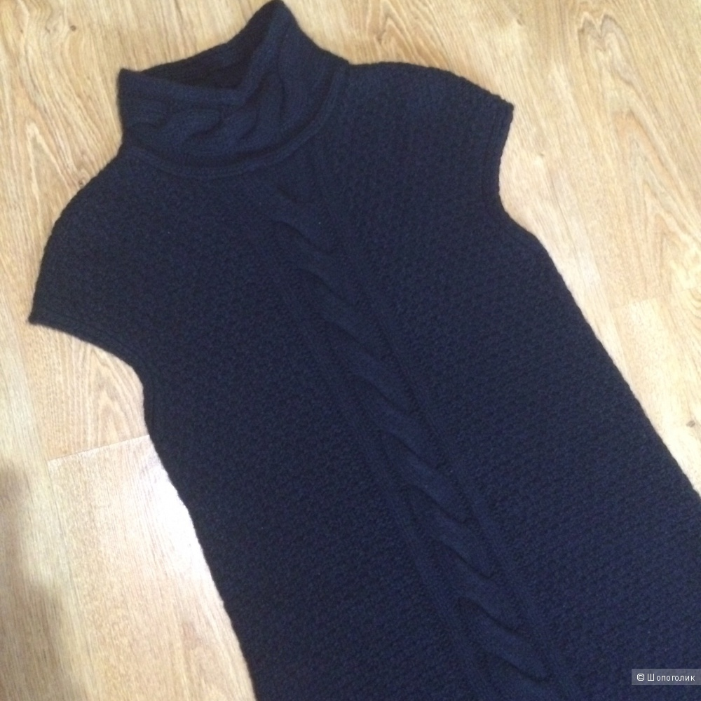 Теплое платье S'MaxMara, размер 46-48