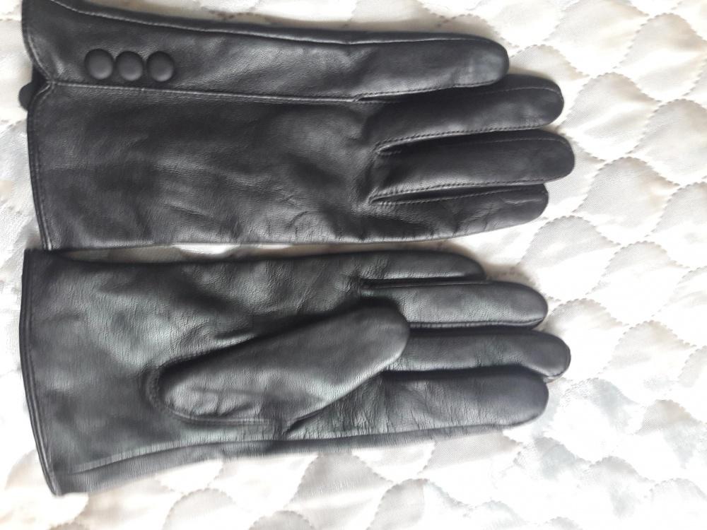 Кожаные перчатки no name 7 размера