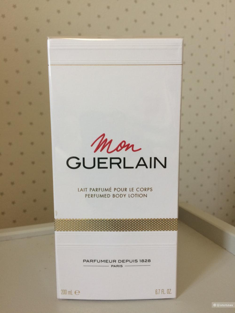 Парфюмированный лосьон/молочко для тела Mon Guerlain 200 мл