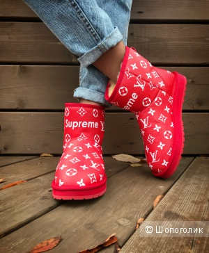 Угги Louis Vuitton SUPREME, 36/37/38/39
