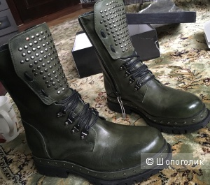 Высокие ботинки Fabrizio Chini 37размер