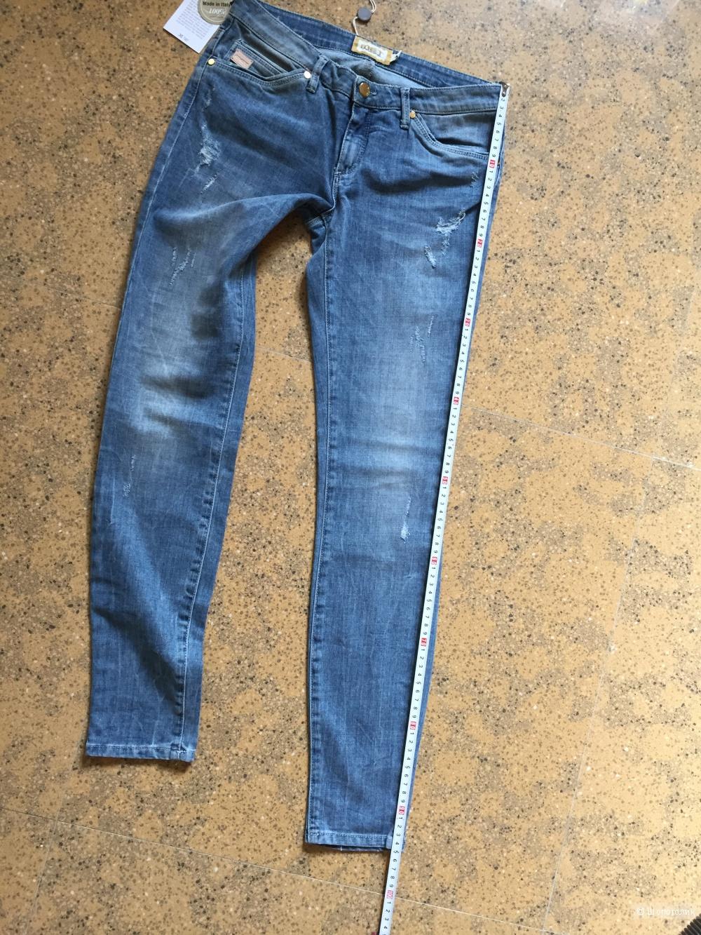 Джинсовые брюки MET, размер 28