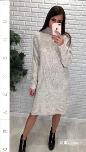 Платье туника four spit, 42-52