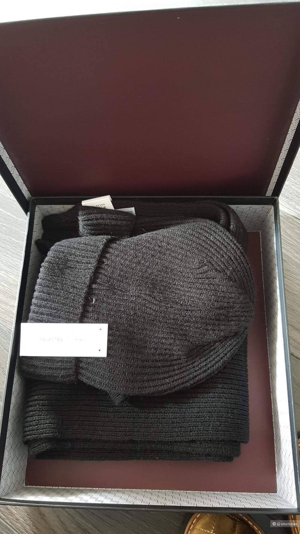 Набор шапка+шарф Selected