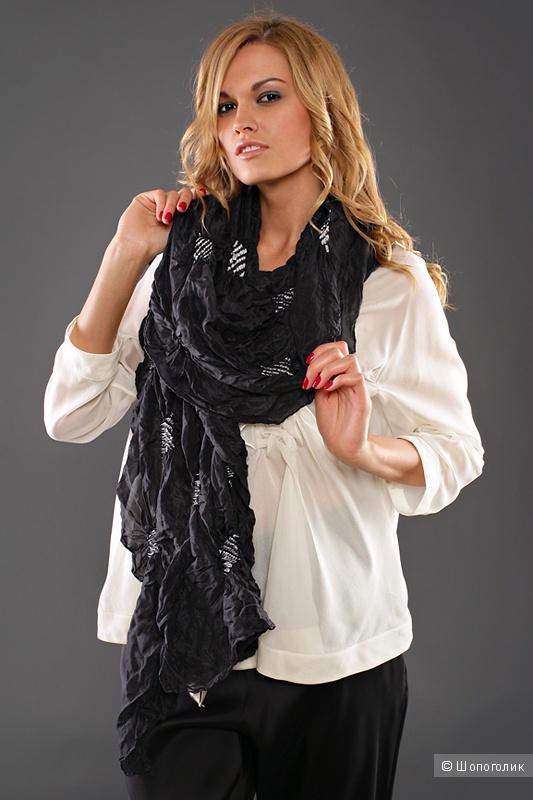 Шёлковый шарф Akira Isogawa 220 на 55 см