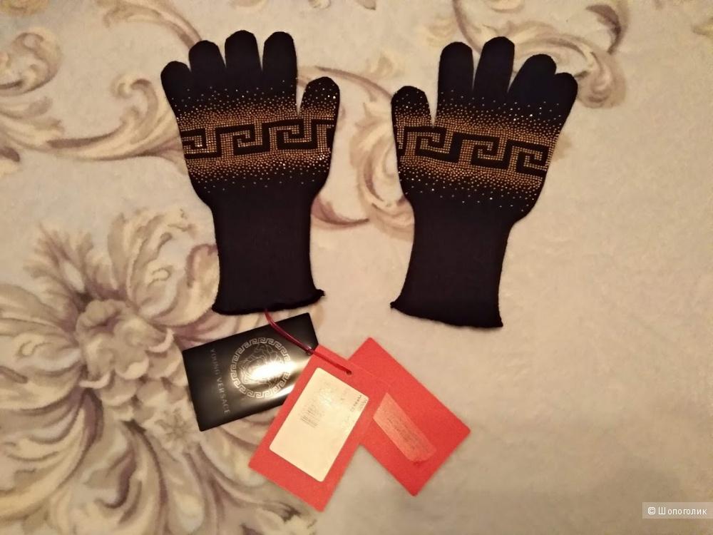 Перчатки YOUNG VERSACE , размер 6-8 лет