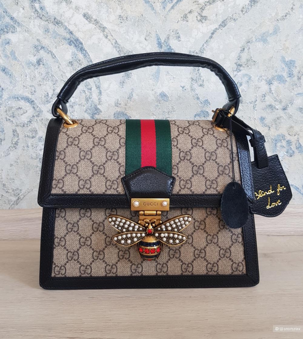 Сумка Gucci (черный кант)