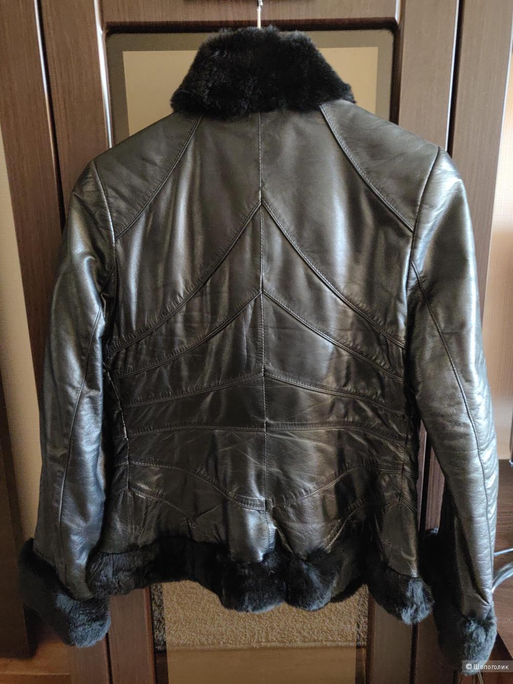 Куртка кожаная noname, размер 46 (м)