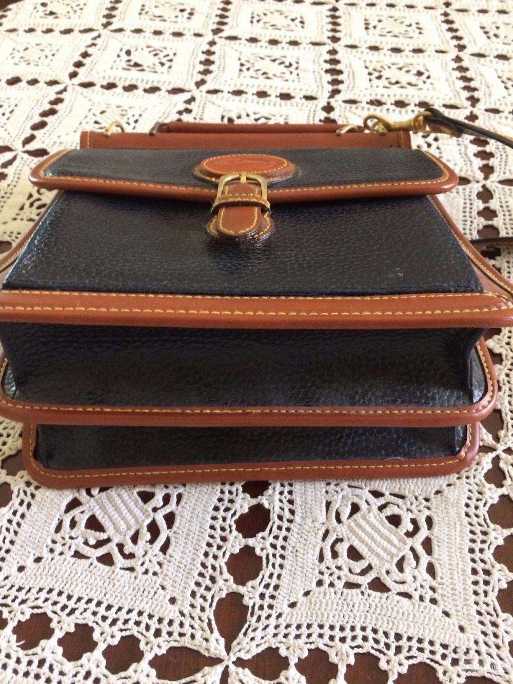 Винтажная сумка портфель Dooney & Bourke