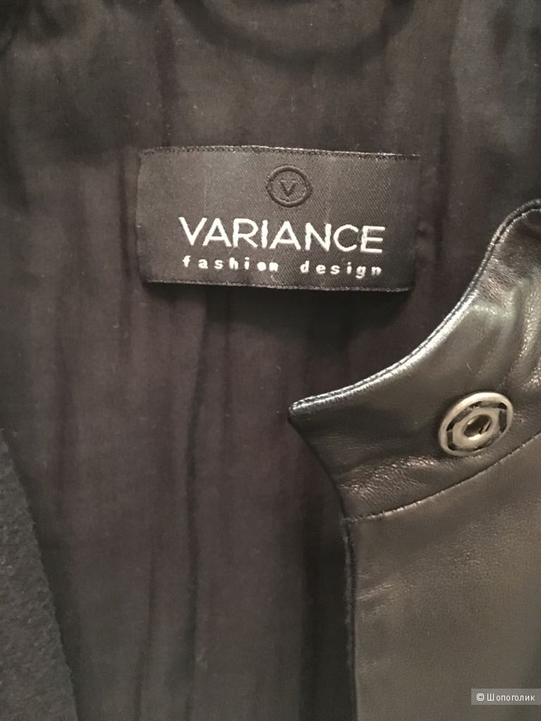Кожаное полупальто Variance, размер 40/42