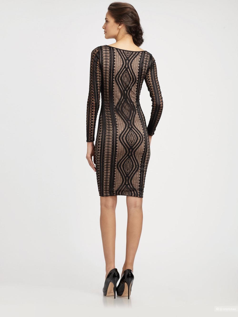 BCBG MaxAzria кружевное платье р.М