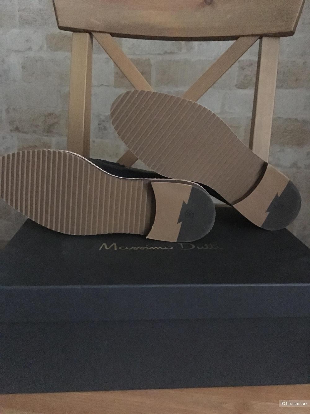 Лоферы Massimo Dutti, 39 размер