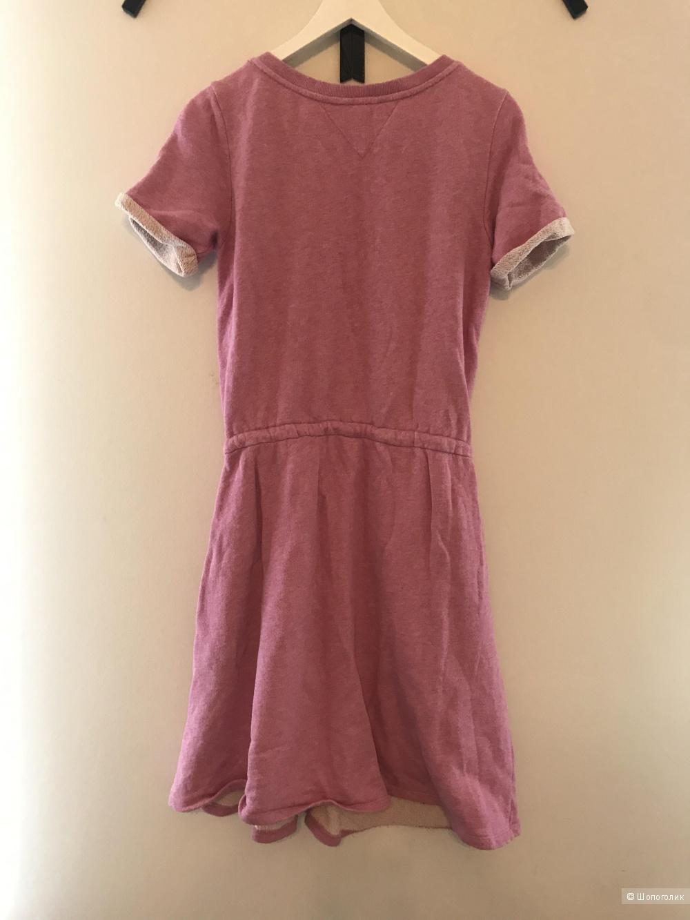 Платье Tommy Hilfiger S-M розовое