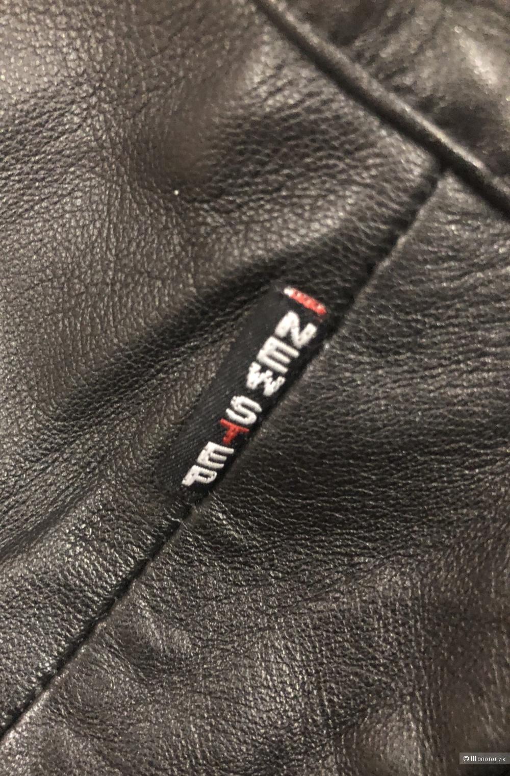 Кожаные брюки New Step, размер 48-50.