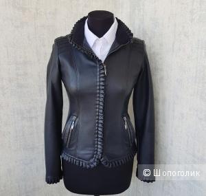 Куртка кожаная UPNN размер S