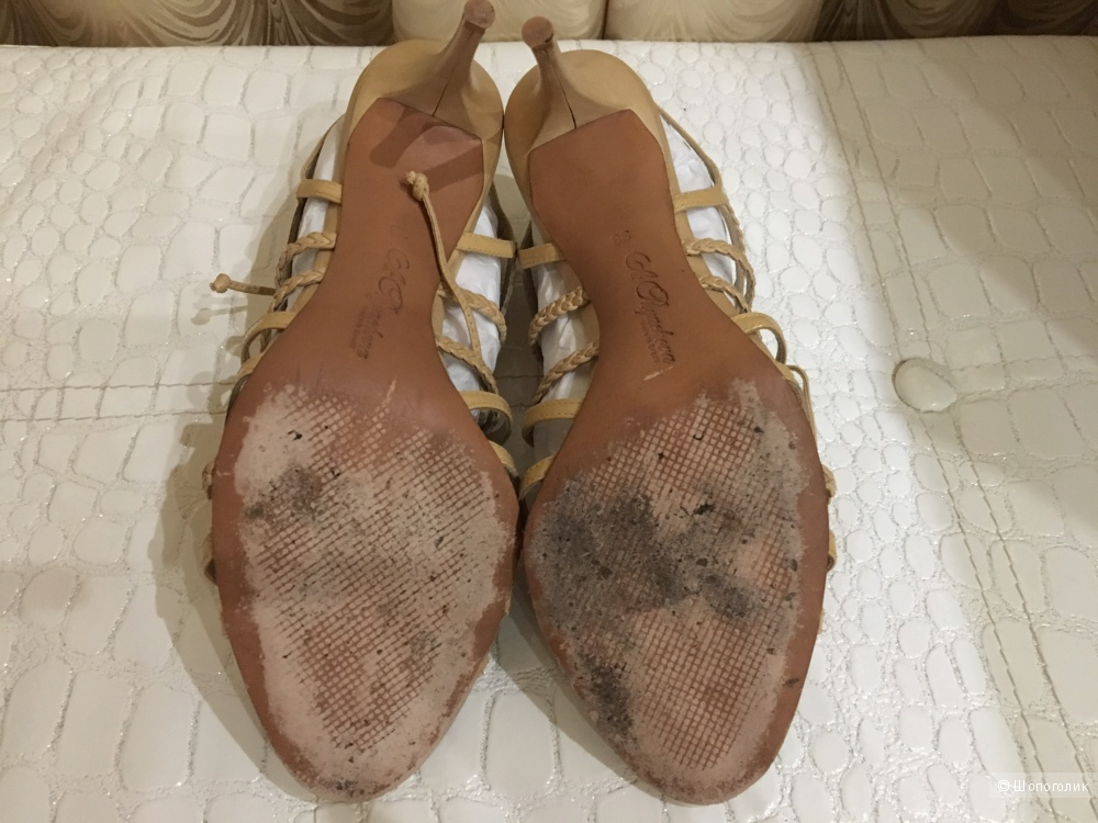 Кожаные туфли Alla Pugachova, размер 38