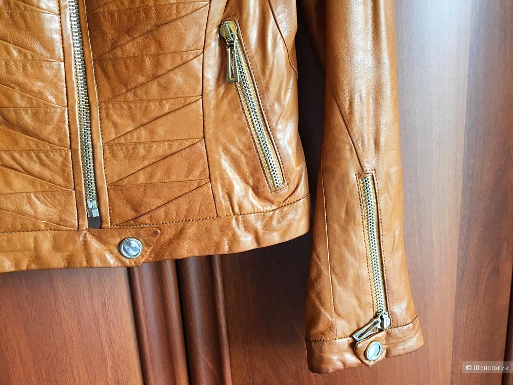 Куртка кожаная Аdamo, размер 42/44