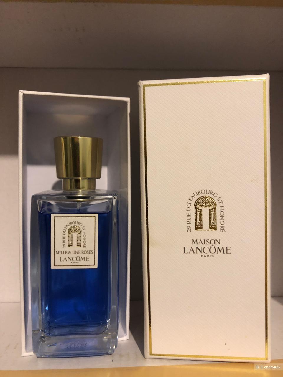 Парфюмированная вода Lancome Mille & une roses 75   мл