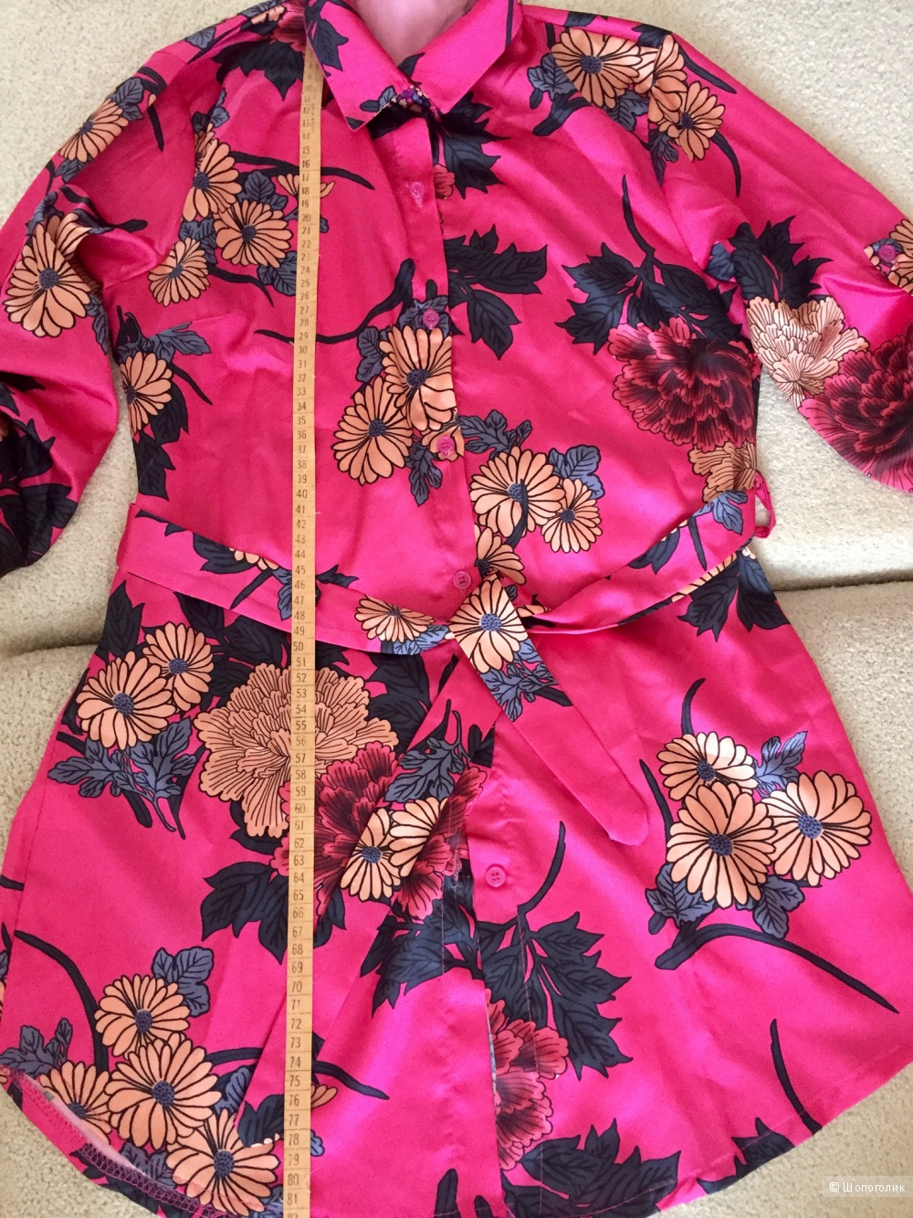 Платье - рубашка Sorelle, размер 42/44.