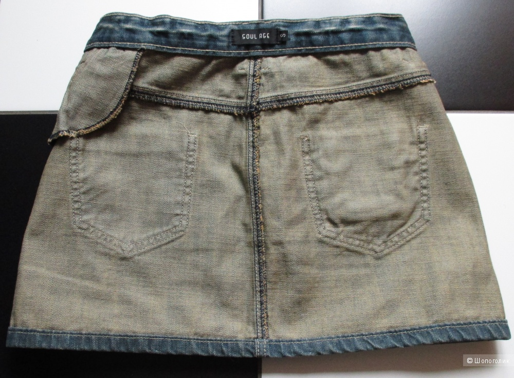 Мини-юбка джинсовая Soul Age размер S
