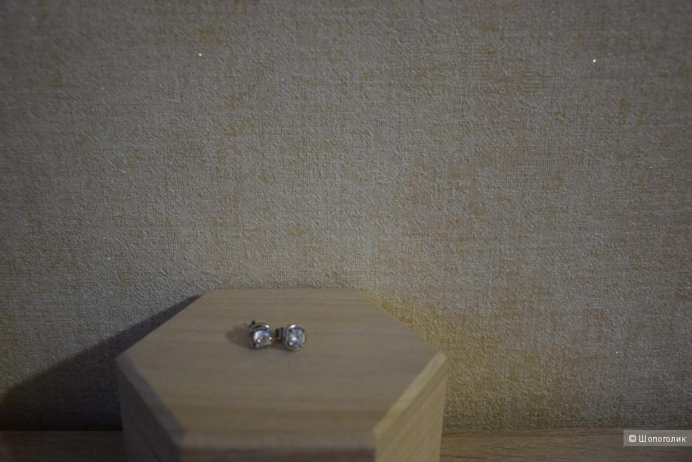 Комплект пуссет из серебра , one size