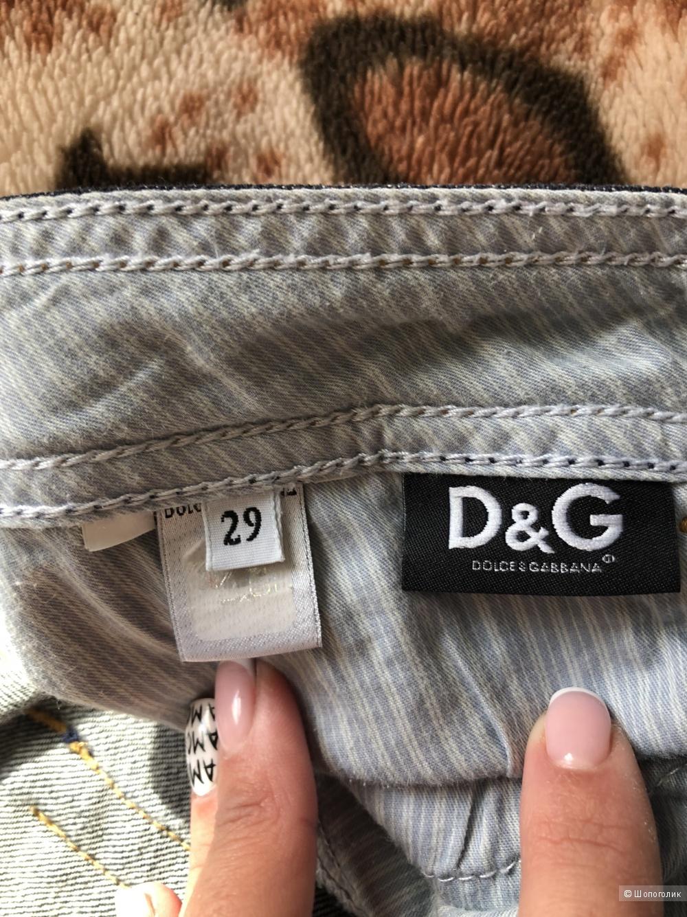 Джинсы Dolce&Gabbana, размер 29