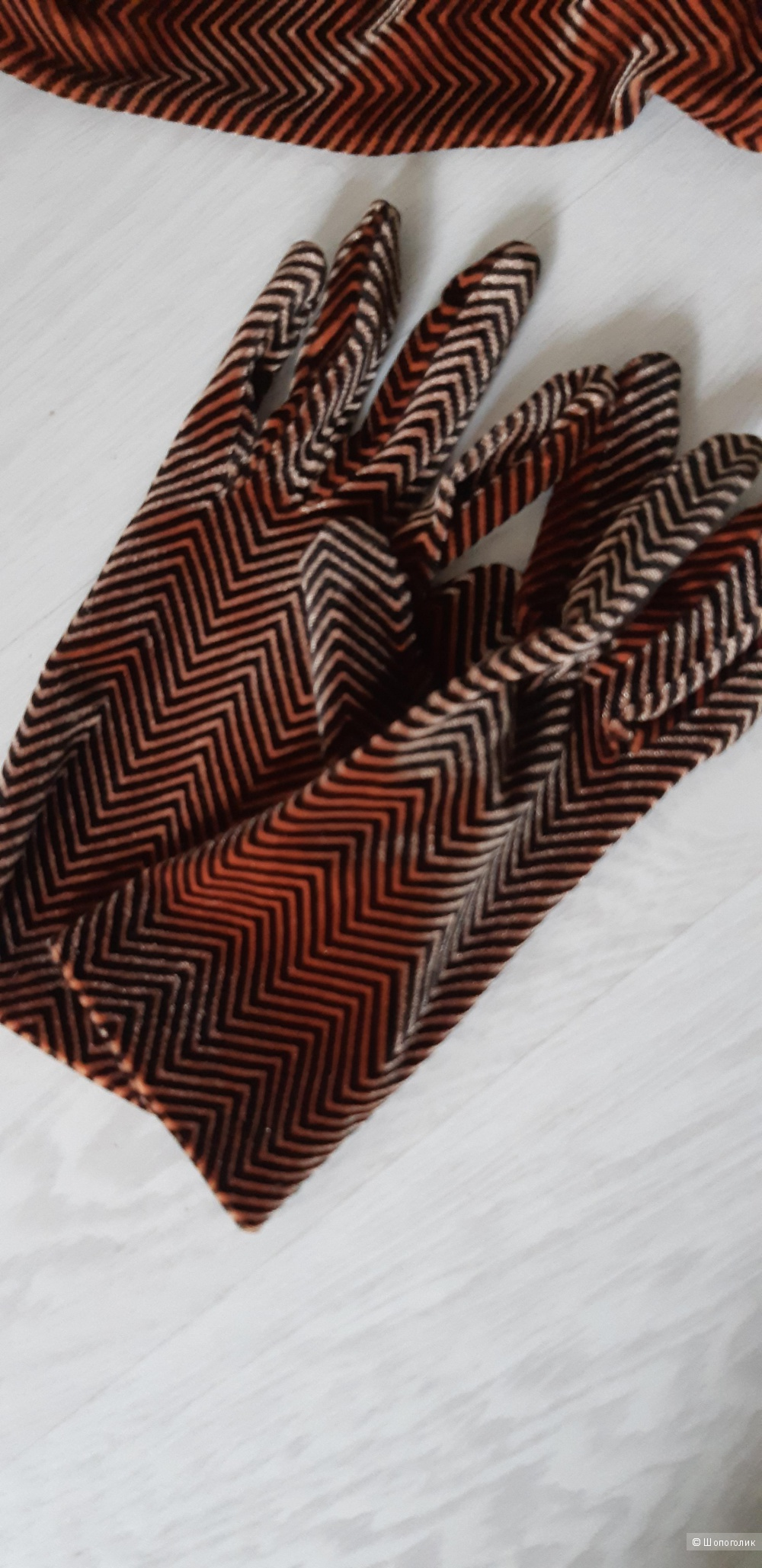 Набор перчатки и шарф Италия