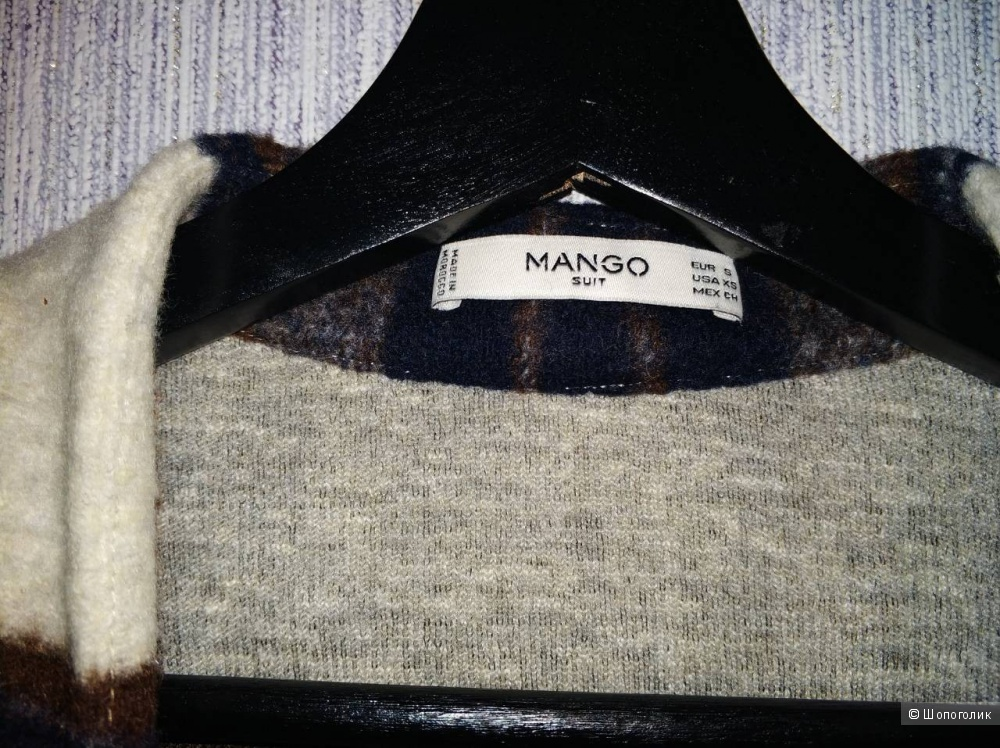 Пончо Mango. размер S