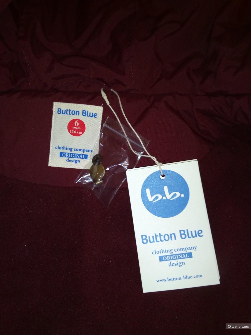 Куртка Button Blue, размер 116