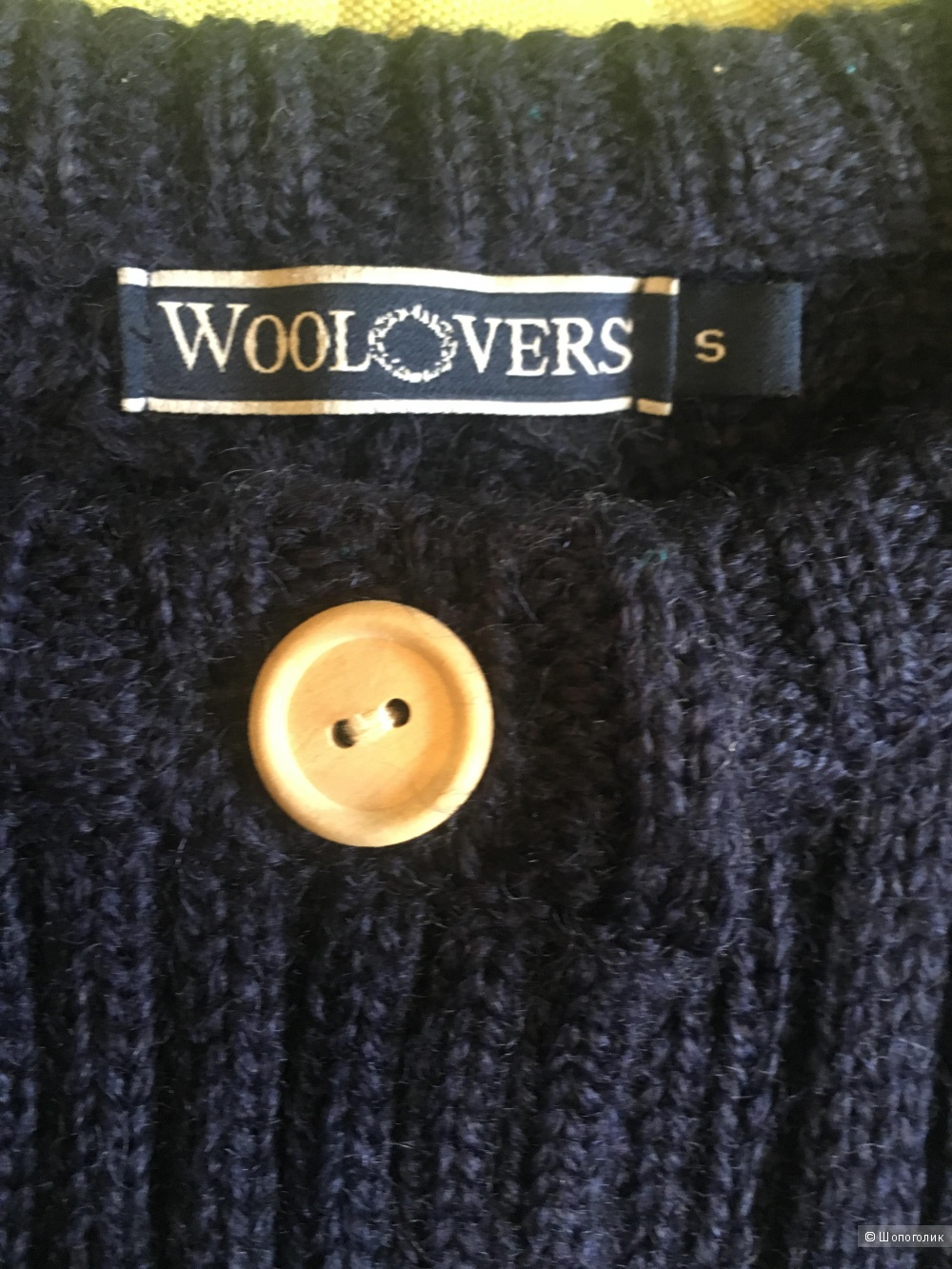 Шерстяной кардиган Woolovers,44-46 размер