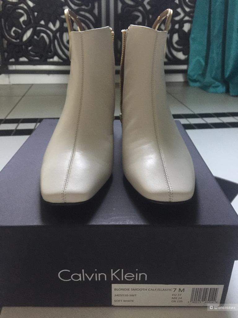 Ботильоны  Calvin Klein, размер 7US\37EU