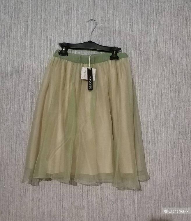 Шелковая юбка Max&co на 42-44