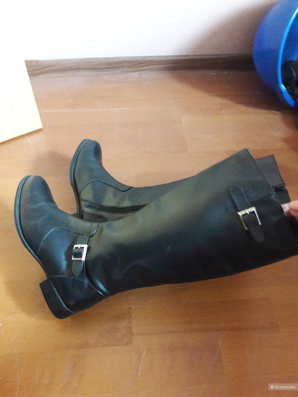 Кожаные сапоги Botte Ville 41  размера